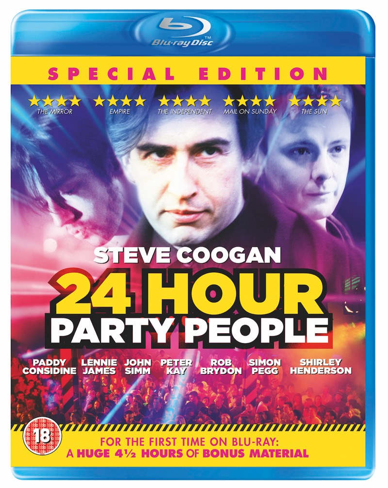 Win: Special 20th Anniversary Edition of 24 Hour Party People on Blu