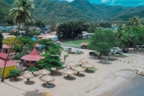 Travel: Soufriere Beach Park at Hummingbird Beach, St Lucia