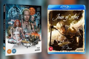 Win two Classics from Director Luc Besson on DVD